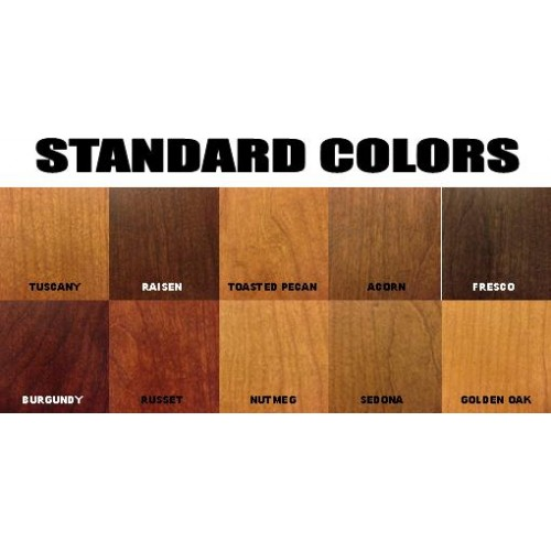 how to choose wood stain color